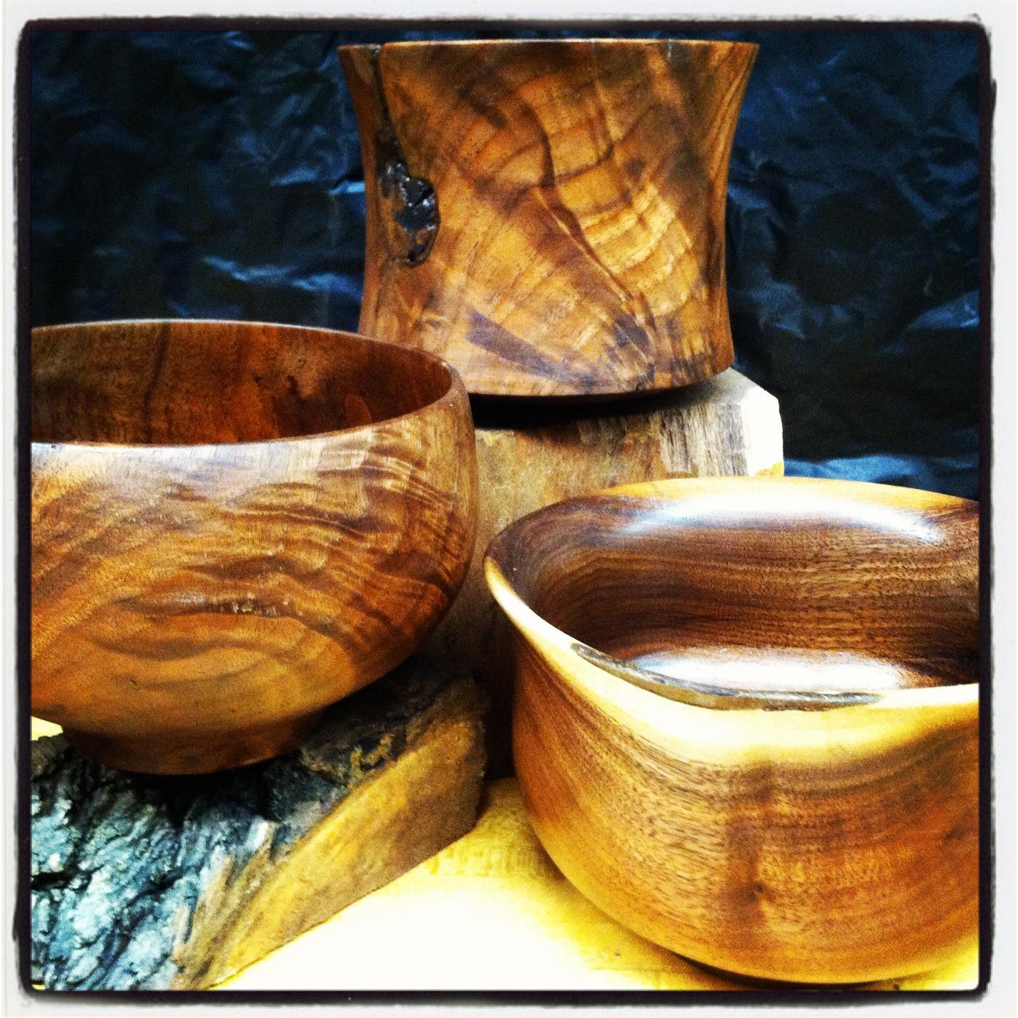 Walnut Burl Bowls