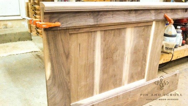 03 Wainscot Panel Locally Harvested Walnut