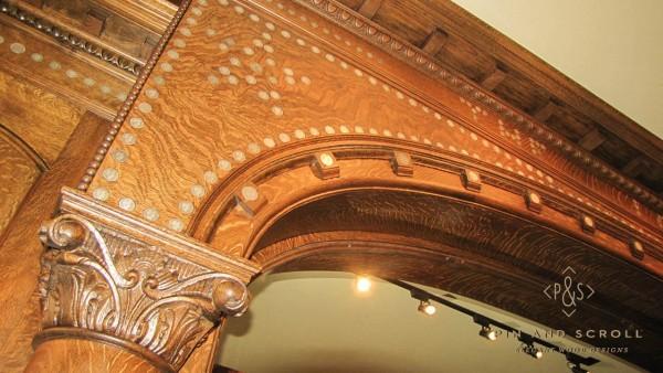 Antique Brunswick Bar Restoration 02