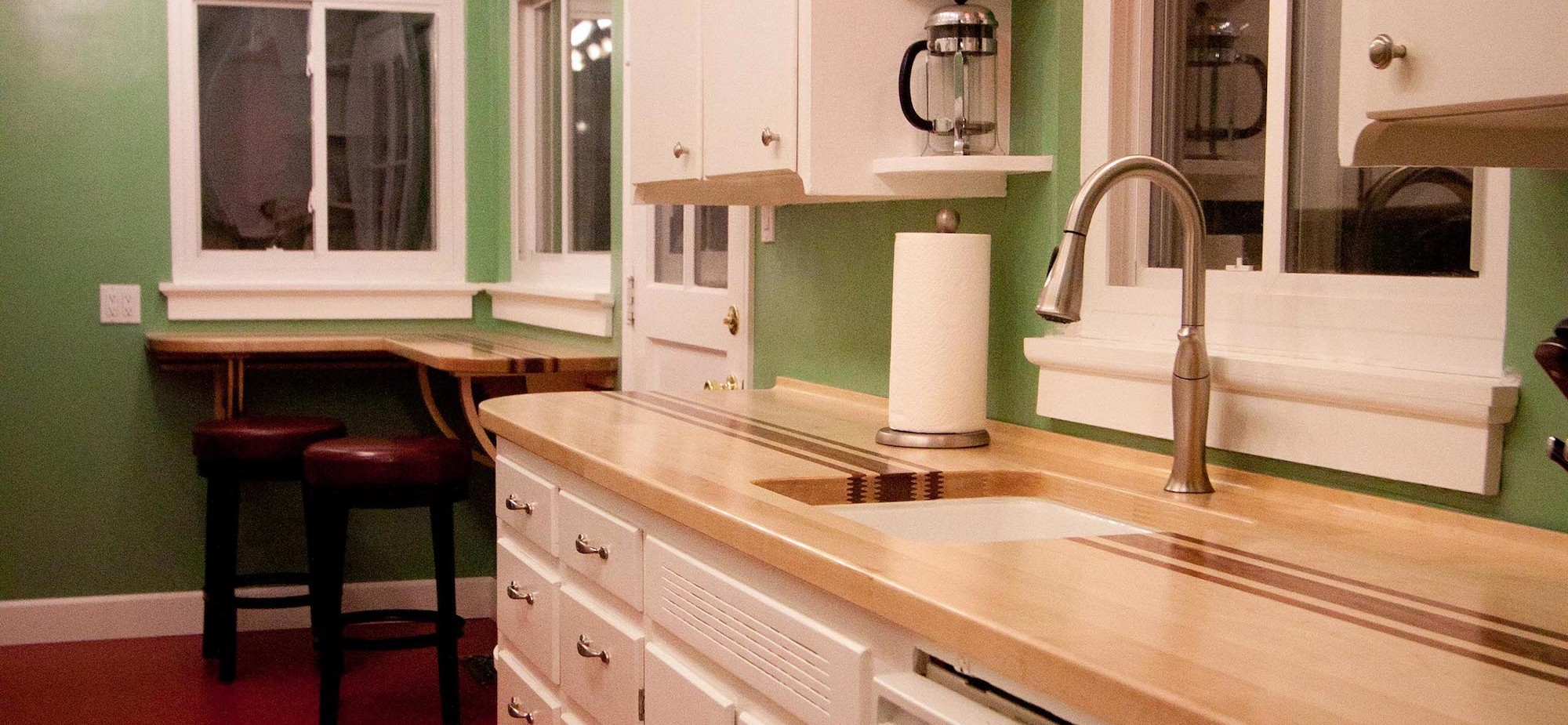 A great counter top made by Forrest Cramer