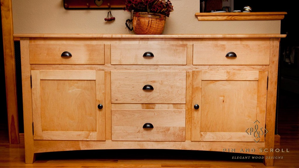maple sideboard. Black Bedroom Furniture Sets. Home Design Ideas