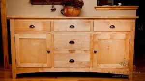 Shaker Style Maple Sideboard 01