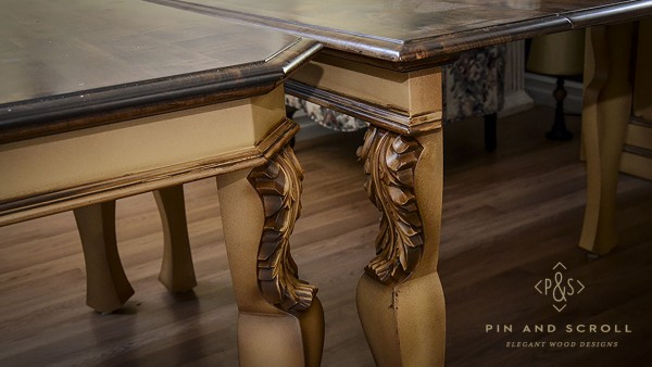 Maple French Country Dining Suite 12